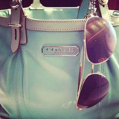 Fashion for Modern Women: Mint Green Coach Purse