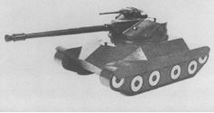 T71 Light Tank - concept of light tank proposed by Detroit Arsenal in 1950s. Prototype was never built, only mockup existed.