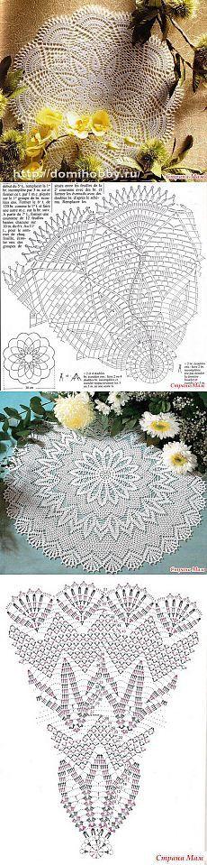 3. Beautiful Doilies - Knitting - Home Moms