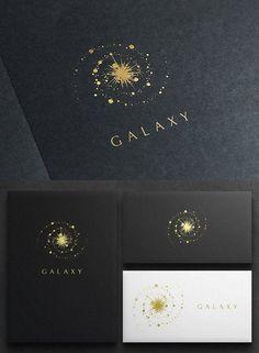 Galaxy Logo Logo Templates is part of Star logo design - Great Logo Design, Web Design, Elegant Logo Design, Great Logos, Logo Branding, Inspiration Logo Design, Style Inspiration, Logos Retro, Bussiness Card