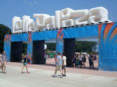 Inflatable Lollapalooza Logo. PromotionalDesignGroup.com