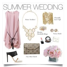 Gorgeous Summer Wedding style solution featuring Stella & Dot