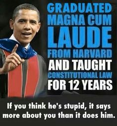 Educated and accomplished.The most hated Black Man in America. Was the best fucking President of this century