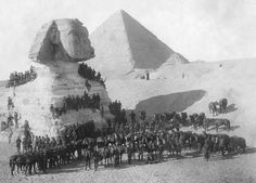 1st Field Company Engineers, Mema Camp, Egypt 1914. Though synonymous with Australia and New Zealand, ANZAC was a mixed body. In addition to many British officers in the corps and division staff, ANZAC contained, at various times, the 7th Brig. of the Indian Mountain Artillery, Ceylon Planters Rifle Corps, the Zion Mule Corps, 4 battalions from the Royal Naval Division, the British 13th (Western) Division, 1 brigade of the British 10th (Irish) Division and the 29th Indian Infantry Brigade.