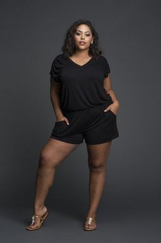 Looking for a really cute plus size romper? We have found a few plus size fashion finds for you! We are giving you all the options to keep it cool & cute!    About that Plus Size Romper Life? Here's 20+ Options to Keep it Cute!  #plussizefashion #plussize Edgy Outfits, Curvy Outfits, Plus Size Outfits, Curvy Girl Fashion, Fashion Models, Plus Size Romper, Plus Size Fashion Tips, Top Tattoos, Curvy Plus Size