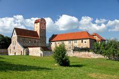 romanesque monastery basilica in Breitungen, Germany