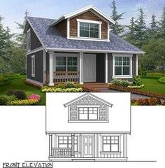 Small House Plan with Two Exterior Choices - 2395JD | 2nd Floor Master Suite, Bungalow, CAD Available, Cottage, Northwest, PDF, Photo Gallery, Tiny House | Architectural Designs