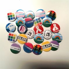 The DC Center has a new button making machine - ask us how you can make buttons for your next big event.