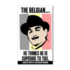 Hercule Poirot -- I like this guy. :)