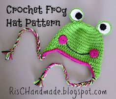 Froggy! My next hat!!