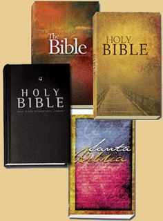 Listen to the Bible (you can choose from several versions)...particularly good when you are trying to read it aloud to someone and you get to Chronicles!