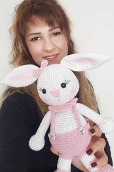 44 Awesome Crochet Amigurumi Patterns For You Kids for 2019 Crochet Baby Blanket Free Pattern, Crochet Bunny Pattern, Crochet Baby Toys, Crochet Rabbit, Cat Pattern, Crochet Patterns Amigurumi, Crochet Dolls, Baby Knitting, Plaid Crochet