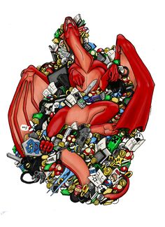 Dragon art// digital art// fantasy art