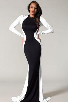 Shop Kami Shade' - Plus Size Glam Rock Black .. I love this Dress.. Very figure flattering!