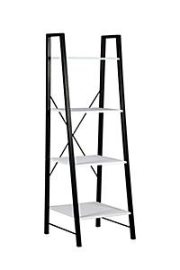 CROSS BACK LADDER SHELF