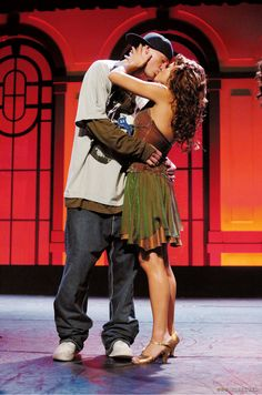 Step Up and together in real life! Channing Tatum & Jenna Dewan-Tatum, Step up, 2006.