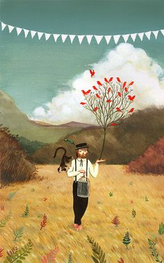 David de las Heras - little bit too whimsical for my liking but I love the leaves and grasses.