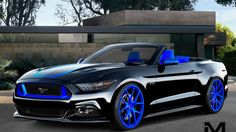 Ford previews custom Mustangs for SEMA