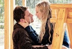 The only good scene in Dear John. Sexy=make out sessions in partially built homes during a rainstorm.