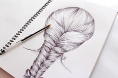 How to Draw a Hair Braid – Step by Step | Miss Caly