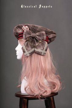 Classical Puppets -Scottish Fold- Lolita Beret