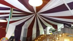Tent draping that The Events Draping Co. created for a corporate event in Cape Town. Bold colours make a great statement for this type of event. Bold Colors, Colours, Draping, Cape Town, Corporate Events, Wedding Planner, Tent, Backdrops, Gallery