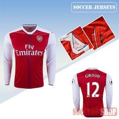 5da9e3381c6 Best Olivier Giroud arsenal 2018 soccer jerseys