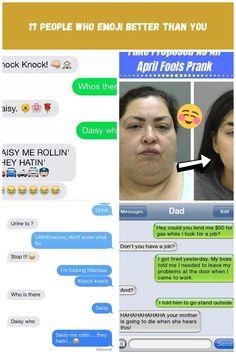 Funny Emoji Texts   POPSUGAR Tech Text pranks 17 People Who Emoji Better Than You