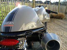 Ducati Sport 1000 custom revival ~ Return of the Cafe Racers Cafe Racers, Ducati Cafe Racer, Cafe Racer Motorcycle, Cafe Moto, Ducati Sport 1000, Ducati Sport Classic, Classic Bikes, Ducati Motorcycles, Vintage Cafe