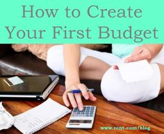 Creating your first budget can be a little terrifying! This guide will help ease the stress.