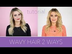 How to Get Wavy Hair 2 Ways With a Curling Iron | Beauty Junkie
