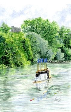 Procession of Boats, Eton_2 by Wabbit-t3h.deviantart.com