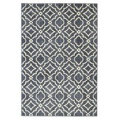 Mohawk Home Carved Tiles Denim 8 ft. x 10 ft. Indoor Area Rug 511999 - The Home Depot Synthetic Rugs, Mohawk Home, Cream Area Rug, Modern Area Rugs, Indoor Rugs, Grey Rugs, Online Home Decor Stores, Woven Rug, Decoration