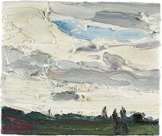 Klaus Fussmann (b. 1938) Ohne Titel (Wolkenstimmung), 2000