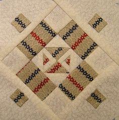 tutoriales Dear jean bloques patchwork aplicacion quilts