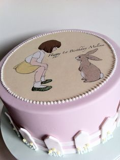 A Little Girl Bash ~ {belle and boo cake}