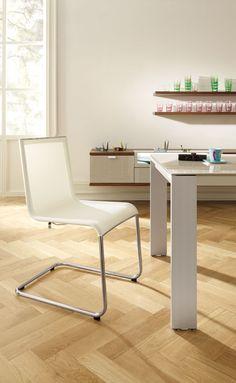 #white #diningroom #chairs #madebyhuelsta #hulsta
