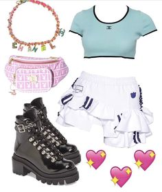 Kpop Fashion Outfits, Stage Outfits, Mode Outfits, Dance Outfits, Womens Fashion, Crazy Outfits, Girl Outfits, Aesthetic Fashion, Aesthetic Clothes