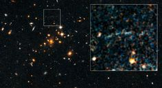 Mysterious Arc of Light Spotted with Spitzer Telescope
