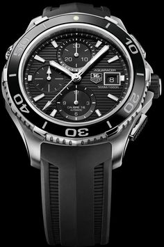 62f2699facd Tag Heuer Aquaracer 500m Ceramic Chronograph watch Fine Watches
