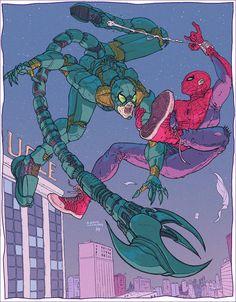 Spidey vs. Scorpey by BryanValenza