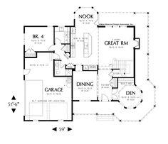House Plan 22128 -The Kensington | houseplans.co