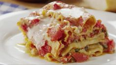 Watch Healthy Crock Pot Lasagna Recipe in the EatingWell Video