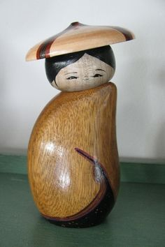 Kokeshi doll by NaomiGallery on Etsy, $42.00