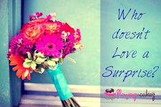 Who doesn't love surprise? Specially when the surprise is a fresh flower bouquet near the door step. Surprise your loved one with Flowerz n Cakez For more, visit : http://www.flowerzncakez.com/products/flowers.htm