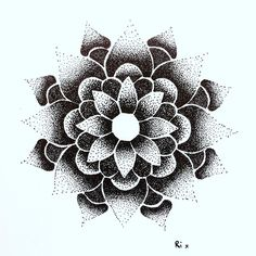 An old mandala drawing  #drawing #illustration #art #fashion #tattoo #mandala…