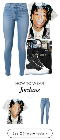 """""""wiz"""" by jadeessxo on Polyvore featuring Hermès and Retrò"""