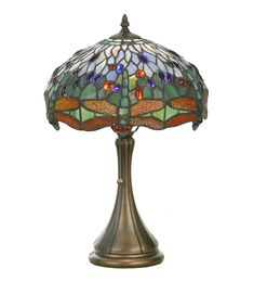 Meyda Tiffany Tiffany Hanginghead Dragonfly Accent Lamp