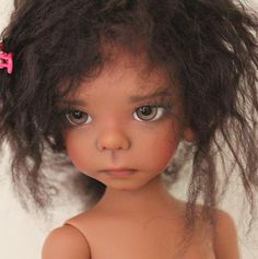 JpopDolls.net ™::Dolls::Kaye Wiggs::Maurice::Elf Maurice girl in coffee skin tone (PREORDER)