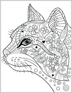 Dog And Cat Coloring Pages Printable Coloring Cats And Dogs Adult Colouring Cats Dogs Image Gallery Cat Coloring Book Pages Cats Coloring Cats And Dogs Cat Coloring Page Dog And Cat Coloring Pages Pri Dog Coloring Page, Adult Coloring Book Pages, Printable Adult Coloring Pages, Animal Coloring Pages, Coloring Pages For Kids, Coloring Books, Coloring Sheets, Colouring For Adults, Kids Coloring
